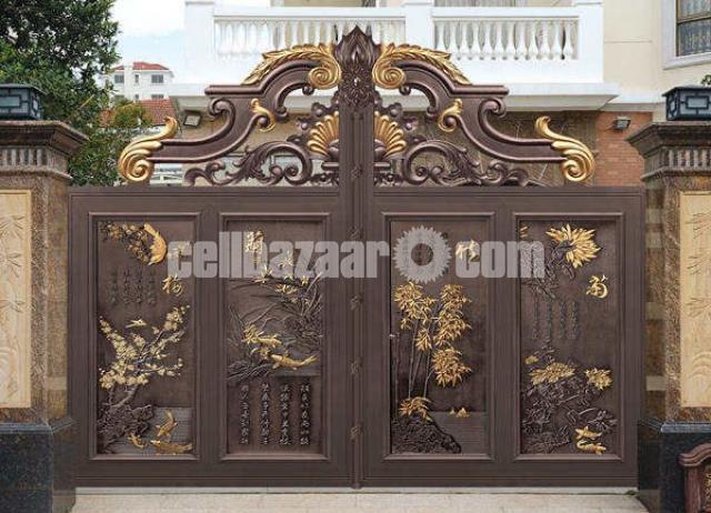 Design main gate - 8/8