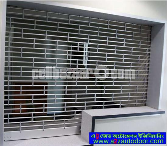 Electric grill shutter - 2/4