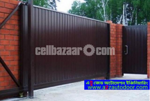 Architectural design motorised gate - 2/8