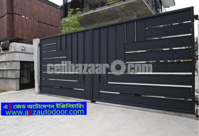 Architectural design motorised gate - 3/8