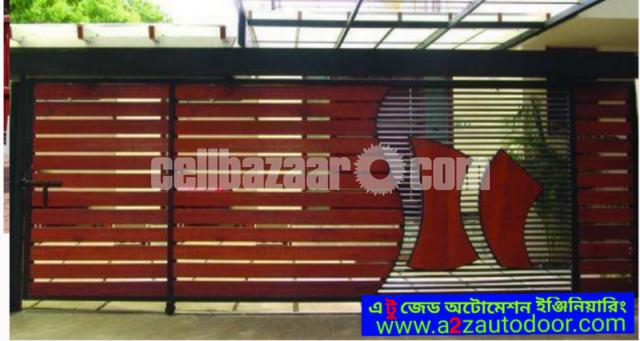 Architectural design motorised gate - 4/8