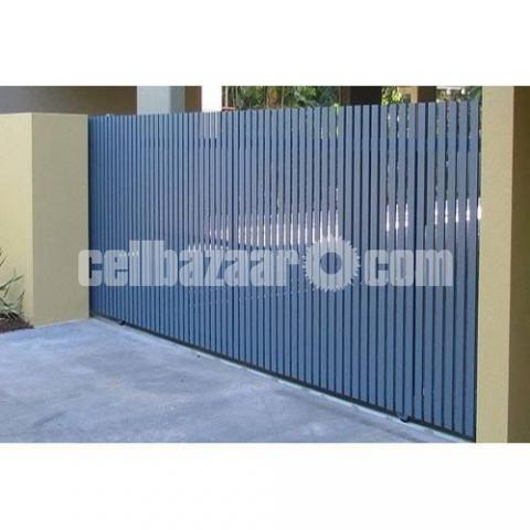 Architectural design motorised gate - 6/8