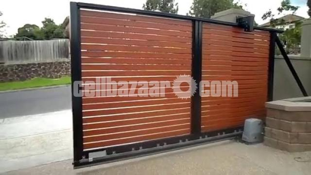 Architectural design motorised gate - 7/8