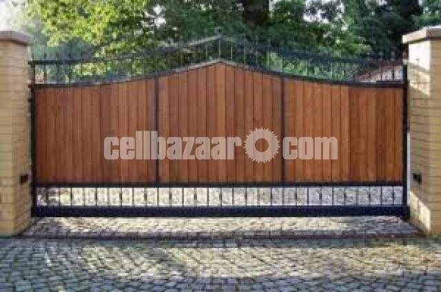 Architectural design motorised gate - 8/8