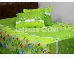 Beautiful Bed Sheet With Pillow Cover - Bs-188