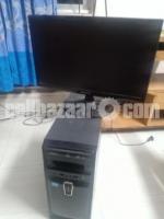 Intel i3 Pc with Samsung Monitor