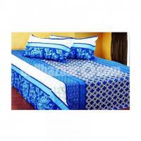 Double Size Cotton Bed Sheet 3 Pcs Set Code: DB-391