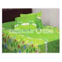 Double Size Cotton Bed Sheet 3 Pcs Set Code: DB-491