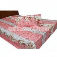 Double Size Cotton Bed Sheet 3 Pcs Set Code: DB-39