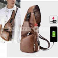 Hardier Unisex Crossbody Fashion Backpack Code:DJ-444