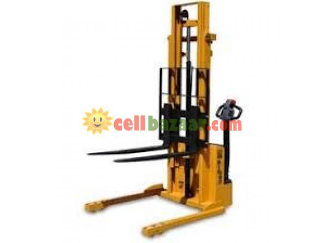 Hydraulic Forklift, Semi Automatic - 4/4
