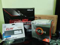 RYZEN 5 3400G GAMING PC