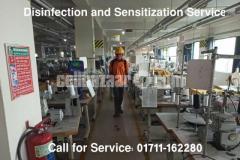 Disinfection and Sensitization-সার্ভিস এর সকল সুবিধা