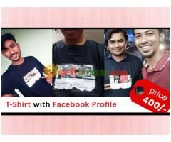 T-Shirt with Facebook Profile