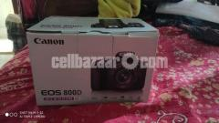 Canon 800d Body only