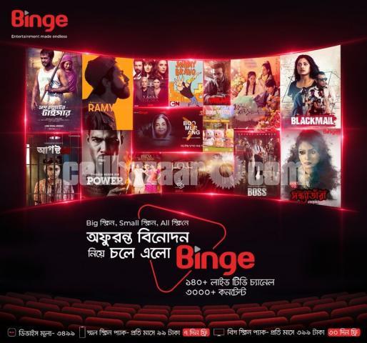 Binge Android Tv Box - 4/5