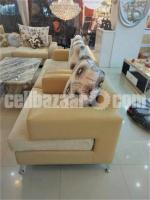 Sofa made in Partnership