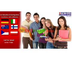 STUDY IN EUROPE WITH CONFIRM ADMISSION