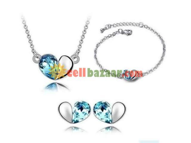 Crystal Drop Jewelry set - 1/1