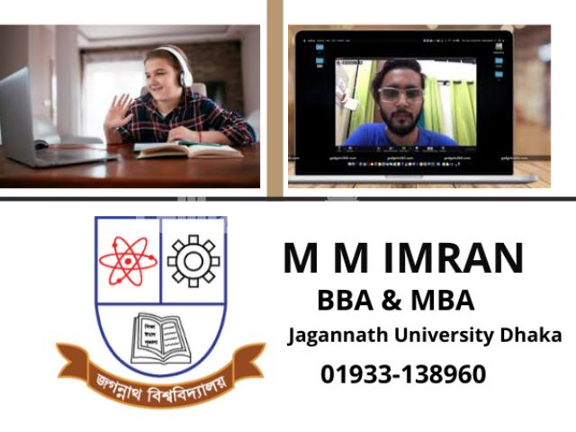 Online Tutor For Class 9 to 12 ( BBA & MBA From JNU) - 1/1