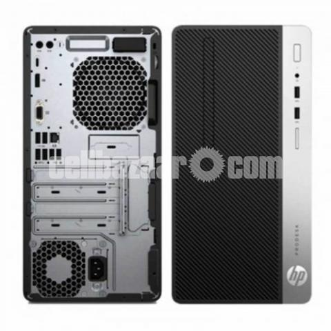 HP ProDesk 400 G6 MT Core i5 9th Gen Micro Tower PC - 4/7
