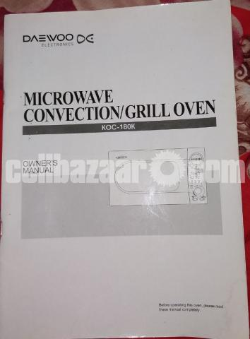 Daewoo 34 Ltr MicroOven New Condition - 1/5