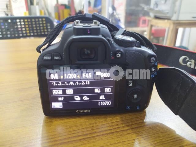 Canon Rebel SL1 - 4/5