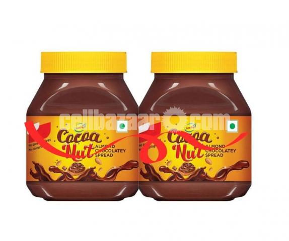 Buy 1 Get 1 Free Sundrop Cocoa Nut Almond Chocolate Spread 350gm (Ai28) - 1/1