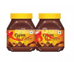 Buy 1 Get 1 Free Sundrop Cocoa Nut Almond Chocolate Spread 350gm (Ai28)