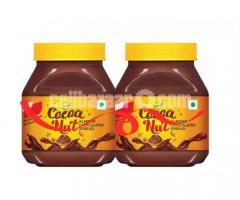 Buy 1 Get 1 Free Sundrop Cocoa Nut Almond Chocolate Spread 350gm (Ai28)