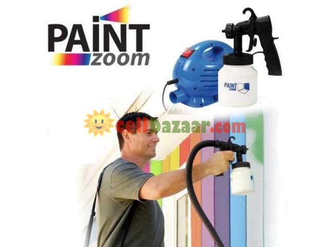 Paint Zoom Professional portable Electric Gun Sprayer - 1/5
