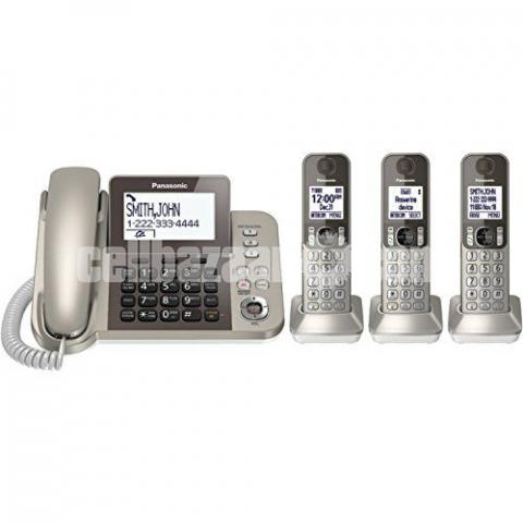 PANASONIC TNT Corded/Cordless 3 Handsets KX-TGF353N /TGF383 - 2/5