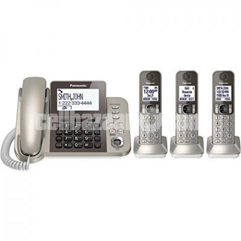 PANASONIC TNT Corded/Cordless 3 Handsets KX-TGF353N /TGF383 - 4/5