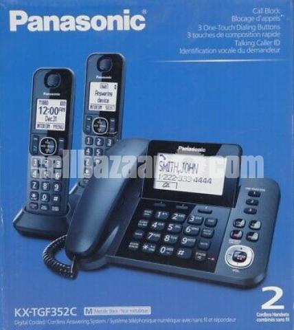 Panasonic TNT Cordless Phone KX-TGF 352M / TGF 382 - 1/5