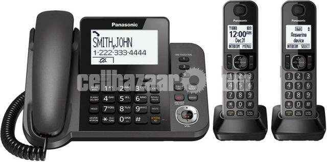 Panasonic TNT Cordless Phone KX-TGF 352M / TGF 382 - 3/5