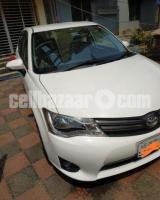 Toyota Axio 2013, new shape