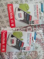 San Disk 128 Gb sd card
