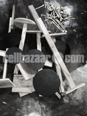 Wood practice Drum kit - 2/3