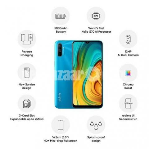 Realme C3 (3/32) Official (New) - 4/4