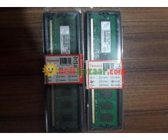 DESKTOP RAM DDR2 2GB NEW