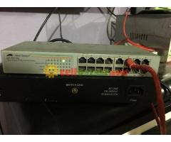 allied telesyn 16 port switch