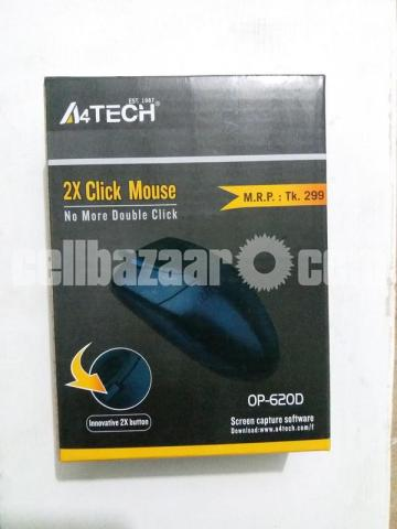 A4TECH OP-620D 2X CLICK WIRED MOUSE - 2/5