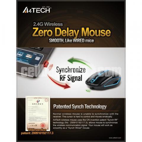 A4Tech Wireless Padless Mouse - 4/4