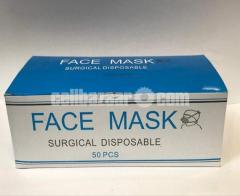 Automated 3 Layer Surgical Mask (1 Box)