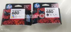 (New) HP 680 Printer Cartridge (Black+Color)