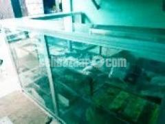2pcs Thai aluminum rackh