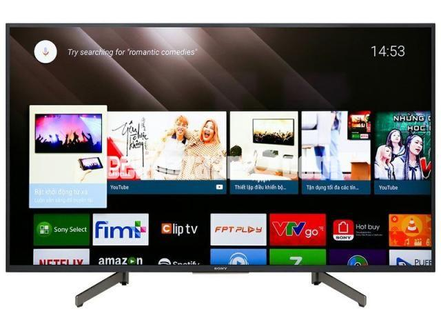 BRAND NEW 43 inch SONY BRAVIA X8000G 4K ANDROID TV - 1/3