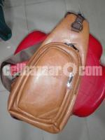 Cross zipper Bag