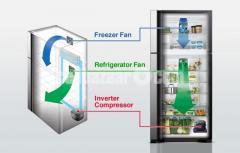Hitachi Stylish Line Refrigerator I R-V420P8PB (BBK) - Image 2/5