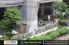 SS Top Acrylic Letter and LED Signboard With Acp Board Branding IshaTech Advertising and Indoor Outd